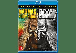 Mad Max Fury Road + Black & Chrome Edition   Blu-ray