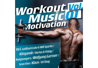 VARIOUS - Workout Music Motivation Vol.01 - (CD)
