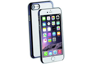 VIVANCO iPhone 7 Slim Clear Hard Case - Transparent/Svart