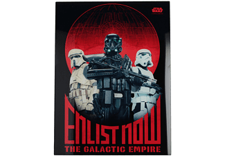 Rogue One: A Star Wars Story Glasposter Enlist Now