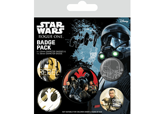 Rogue One: A Star Wars Story Button Set (5-teilig) Rebel