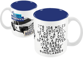 The Blues Brothers - Cadillac - Tasse Weiss