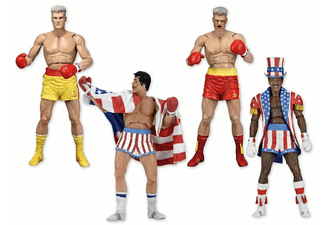 Rocky 40Th Anni Serie 2 Actionfigurenset
