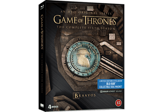 Game of Thrones S6 Steelbook Action Blu-ray