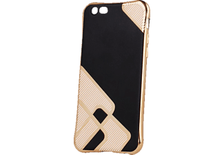 AGM Glamour, Backcover, Apple, iPhone 5, iPhone 5s, iPhone SE, Kunststoff, Schwarz/Gold