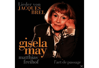 Gisela May - Gisela May Singt Jacques Brel - (CD)