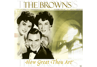 The Browns - How Great Thou Art - (CD)