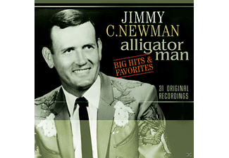 Jimmy C. Newman - Alligator Man-Big Hits & Favorite - (CD)