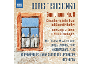 VARIOUS, St.Petersburg SO - Sinfonie 8/+ - (CD)