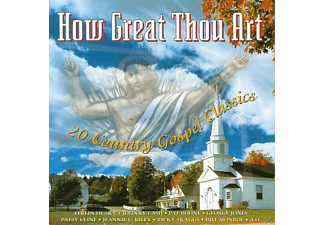 VARIOUS - HOW GREAT THOU ART - (CD)