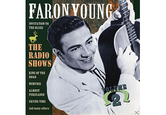 Faron Young - THE RADIO SHOWS - (CD)