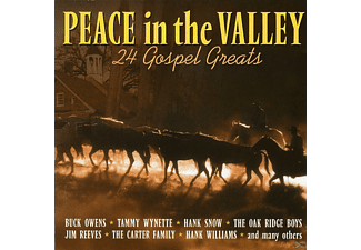 24 Gospel Greats - PEACE IN THE VALLEY - (CD)