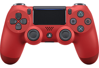 SONY Dualshock 4 v2 , Wireless-Controller, Rot