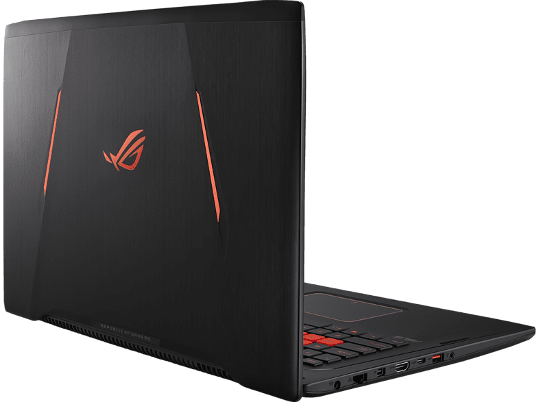 ASUS GL702VM-GC005T, Gaming-Notebook mit 17.3 Zoll Display, Core™ i7 Prozessor, 8 GB RAM, 1 TB HDD, 256 GB SSD, GeForce GTX 1060, Schwarz/Orange