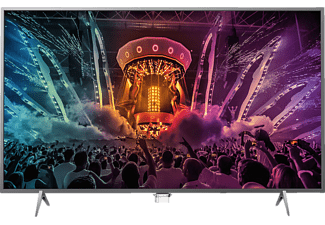 PHILIPS 43PUS6201, 108 cm (43 Zoll), UHD 4K, SMART TV, LED TV, Ambilight 2-seitig, DVB-T2 HD, DVB-C, DVB-S, DVB-S2