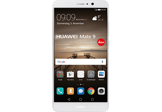 HUAWEI Mate 9, Smartphone, 64 GB, 5.9 Zoll, Silber, LTE