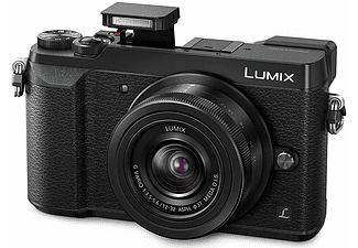 PANASONIC GX80 Kit με φακό 12-32mm Black - (DMC-GX80KEGK)