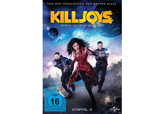 Killjoys Staffel 2 (Space Bounty Hunters) [DVD]