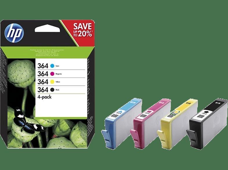 HEWLETT PACKARD 364 CRTR Combo Pack - (HPN9J73A) laptop  tablet  computing  εκτύπωση   μελάνια μελάνια  toner