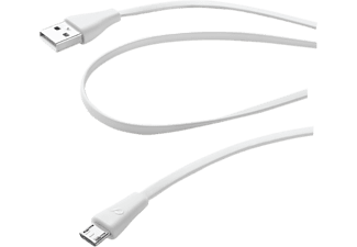 CELLULAR LINE Data Cable White - (USBDATACMICROUSBW)