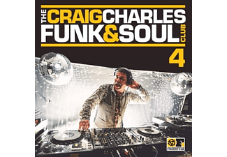 VARIOUS - The Craig Charles Funk & Soul Club Vol.4 - (CD)