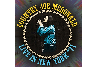Country Joe McDonald - Live In New York '71 - (CD)