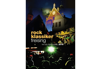 VARIOUS - Rockklassiker Freising-Live Am Marienplatz 2016 - (CD + DVD Video)