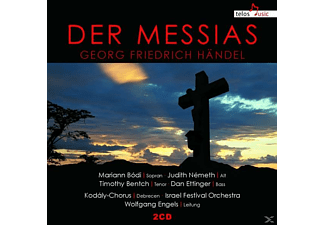 Bodi/Nemeth/Bentch/Ettinger/Kodaly-Chorus/+ - Der Messias - (CD)