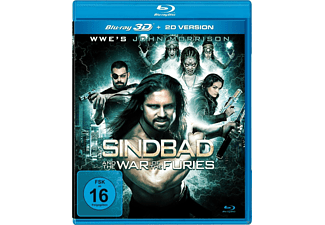 Sindbad and the War of the Furies - (3D Blu-ray)