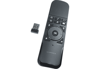 VIVANCO schnurlose, Wireless Presenter mit Mausfunktion