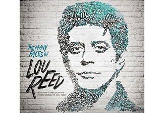 VARIOUS - Many Faces Of Lou Reed - (CD)