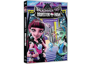 Welcome To Monster High Barn DVD