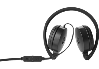 HP H2800 Stereo Headset Headset Schwarz