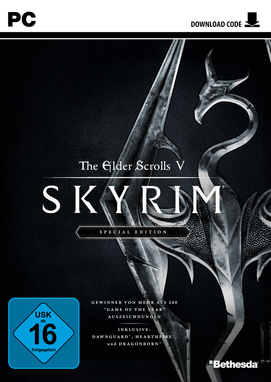 the elder scrolls v skyrim special edition pc ebay. Black Bedroom Furniture Sets. Home Design Ideas