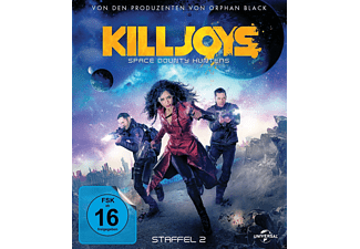 Killjoys Staffel 2 (Space Bounty Hunters) [Blu-ray]