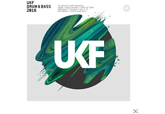 VARIOUS - UKF DRUM & BASS 2016 (+MP3) - (CD)