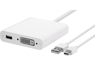 APPLE Mini DisplayPort till Dual-Link DVI Adapter MB571Z/A
