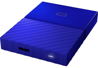 WESTERN DIGITAL My Passport Ultra  4 Tb  Usb 3   2,5 Inch Blue