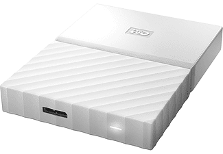 WESTERN DIGITAL My Passport Ultra  1 Tb  Usb 3   2,5 Inch White