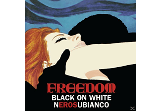 Freedom - Black On White (White Vinyl) - (Vinyl)