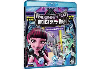 Welcome To Monster High Barn Blu-ray