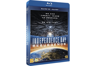 Independence Day: Resurgence Science Fiction 3D BD & 2D BD, Blu-Ray