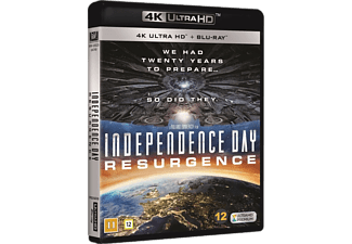 Independence Day: Resurgence Science Fiction 4K Ultra HD Blu-ray