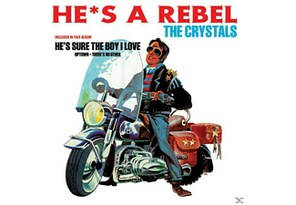 The Crystals - HE S A REBEL - (Vinyl)