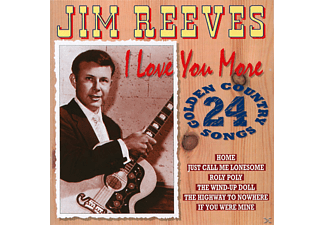 Jim Reeves - I Love You More - 24 Golden Country Songs - (CD)