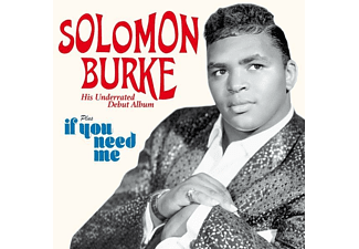 Solomon Burke - Debut Album+If You Need Me - (CD)