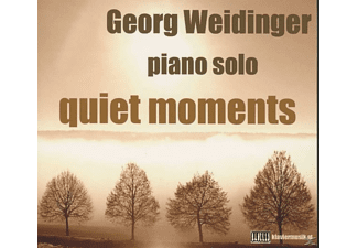 Georg Weidinger - Quiet Moments (Piano Solo) - (CD)