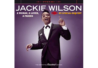 Jackie Wilson - A Woman, A Lover, A Friend/By Special Request (CD)