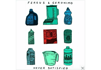 Fergus & Geronimo - NEVER SATISFIED (7INCH) - (Vinyl)