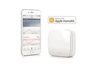 ELGATO 1EW109901001 Eve Weather, Außensensor, System: HomeKit, Bluetooth Low Energy